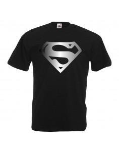P0585 Superman espejo plata