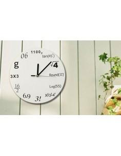 Reloj Matemáticas de pared