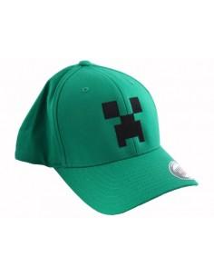 Minecraft Gorra Béisbol Creeper talla S/M