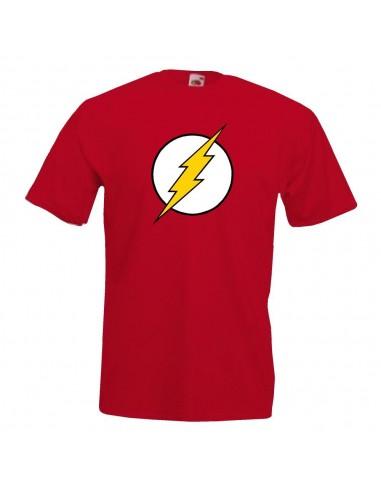 P0145 Camiseta superhéroe Flash